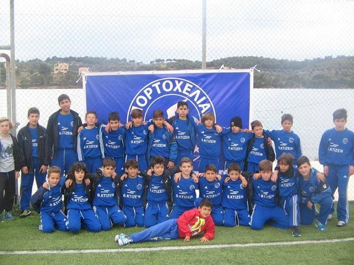 Porto Cheli football team U18